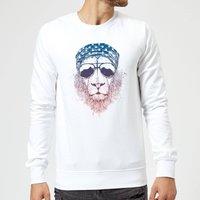 Balazs Solti Bandana Lion Sweatshirt - White - S - White