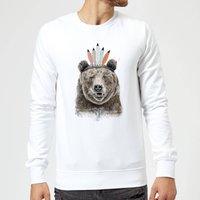 Balazs Solti Native Bear Sweatshirt - White - S - White