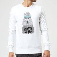 Balazs Solti Made In The 80's Sweatshirt - White - XXL - White