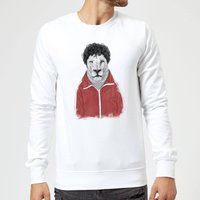 Balazs Solti Sporty Lion Sweatshirt - White - M - White