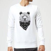 Balazs Solti Bandana Panda Sweatshirt - White - XXL - White