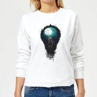 NYC Moon Women's Sweatshirt - White - XL - White