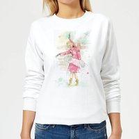 Dancing Queen Women's Sweatshirt - White - XXL - White - Dancing Gifts