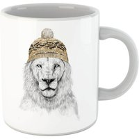 Balazs Solti Lion With Hat Mug - Iwoot Gifts