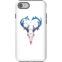 Balazs Solti Antlers Phone Case for iPhone and Android - iPhone 7 - Tough Case - Matte
