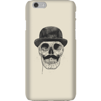 Balazs Solti Monocle Skull Phone Case for iPhone and Android - iPhone 6 - Snap Case - Gloss