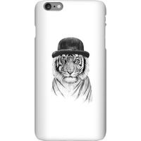 Balazs Solti Tiger In A Hat Phone Case for iPhone and Android - iPhone 6 Plus - Snap Case - Matte