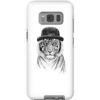 Balazs Solti Tiger In A Hat Phone Case for iPhone and Android - Samsung S8 - Tough Case - Matte