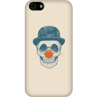 Balazs Solti Red Nosed Skull Phone Case for iPhone and Android - iPhone 5C - Snap Case - Gloss