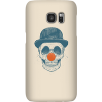 Balazs Solti Red Nosed Skull Phone Case for iPhone and Android - Samsung S7 - Snap Case - Gloss