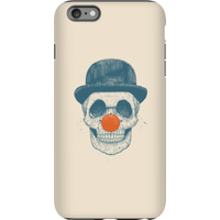 Balazs Solti Red Nosed Skull Phone Case for iPhone and Android - iPhone 6 Plus - Tough Case - Gloss