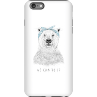 Balazs Solti We Can Do It Phone Case for iPhone and Android - iPhone 6 Plus - Tough Case - Matte