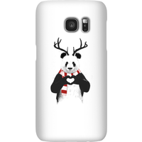 Balazs Solti Winter Panda Phone Case for iPhone and Android - Samsung S7 - Snap Case - Matte