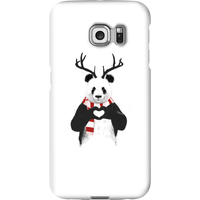 Balazs Solti Winter Panda Phone Case for iPhone and Android - Samsung S6 Edge - Snap Case - Gloss