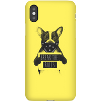 Balazs Solti Break The Rules Phone Case for iPhone and Android - iPhone 11 - Snap Case - Matte