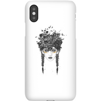 Balazs Solti Native Girl Phone Case for iPhone and Android - iPhone 11 - Snap Case - Matte