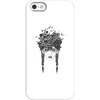 Balazs Solti Native Girl Phone Case for iPhone and Android - iPhone 5/5s - Snap Case - Gloss
