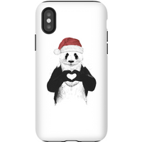Balazs Solti Santa Bear Phone Case for iPhone and Android - iPhone X - Tough Case - Matte