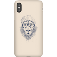 Balazs Solti Lion Phone Case for iPhone and Android - iPhone XS - Snap Case - Matte