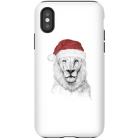 Balazs Solti Santa Bear Phone Case for iPhone and Android - iPhone X - Tough Case - Gloss