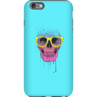 Balazs Solti Skull And Glasses Phone Case for iPhone and Android - iPhone 6 Plus - Tough Case - Glos