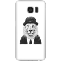 Balazs Solti Monocle Lion Phone Case for iPhone and Android - Samsung S6 - Snap Case - Gloss