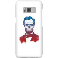 Balazs Solti Suited And Booted Skull Phone Case for iPhone and Android - Samsung S8 - Snap Case - Gl