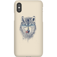 Balazs Solti Wolf Eyes Phone Case for iPhone and Android - Samsung S10E - Snap Case - Matte
