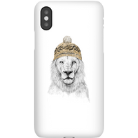 Balazs Solti Lion With Hat Phone Case for iPhone and Android - Samsung S10 - Snap Case - Matte
