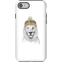 Balazs Solti Lion With Hat Phone Case for iPhone and Android - iPhone 7 - Tough Case - Gloss