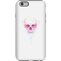 Balazs Solti Colourful Skull Phone Case for iPhone and Android - iPhone 6S - Tough Case - Matte - Colourful Gifts