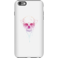 Balazs Solti Colourful Skull Phone Case for iPhone and Android - iPhone 6 Plus - Tough Case - Matte - Colourful Gifts