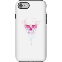 Balazs Solti Colourful Skull Phone Case for iPhone and Android - iPhone 7 - Tough Case - Matte - Colourful Gifts