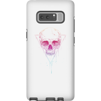 Balazs Solti Colourful Skull Phone Case for iPhone and Android - Samsung Note 8 - Tough Case - Matte - Colourful Gifts