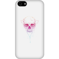 Balazs Solti Colourful Skull Phone Case for iPhone and Android - iPhone 5C - Snap Case - Gloss - Colourful Gifts