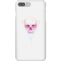 Balazs Solti Colourful Skull Phone Case for iPhone and Android - iPhone 7 Plus - Snap Case - Gloss - Colourful Gifts