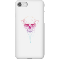 Balazs Solti Colourful Skull Phone Case for iPhone and Android - iPhone 8 - Snap Case - Gloss - Colourful Gifts