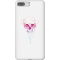 Balazs Solti Colourful Skull Phone Case for iPhone and Android - iPhone 8 Plus - Snap Case - Gloss - Colourful Gifts