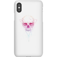 Balazs Solti Colourful Skull Phone Case for iPhone and Android - iPhone X - Snap Case - Gloss - Colourful Gifts