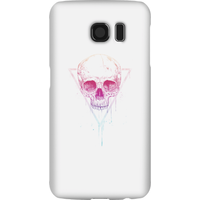 Balazs Solti Colourful Skull Phone Case for iPhone and Android - Samsung S6 - Snap Case - Gloss - Colourful Gifts