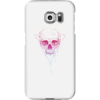 Balazs Solti Colourful Skull Phone Case for iPhone and Android - Samsung S6 Edge - Snap Case - Gloss - Colourful Gifts