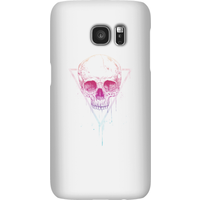 Balazs Solti Colourful Skull Phone Case for iPhone and Android - Samsung S7 - Snap Case - Gloss - Colourful Gifts