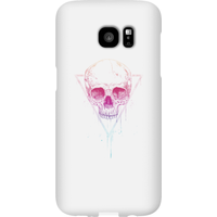 Balazs Solti Colourful Skull Phone Case for iPhone and Android - Samsung S7 Edge - Snap Case - Gloss - Colourful Gifts
