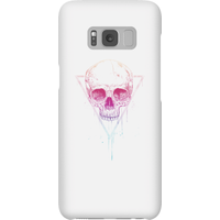 Balazs Solti Colourful Skull Phone Case for iPhone and Android - Samsung S8 - Snap Case - Gloss - Colourful Gifts