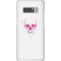 Balazs Solti Colourful Skull Phone Case for iPhone and Android - Samsung Note 8 - Snap Case - Gloss - Colourful Gifts