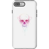 Balazs Solti Colourful Skull Phone Case for iPhone and Android - iPhone 7 Plus - Tough Case - Gloss - Colourful Gifts