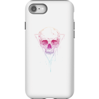 Balazs Solti Colourful Skull Phone Case for iPhone and Android - iPhone 8 - Tough Case - Gloss - Colourful Gifts