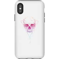 Balazs Solti Colourful Skull Phone Case for iPhone and Android - iPhone X - Tough Case - Gloss - Colourful Gifts