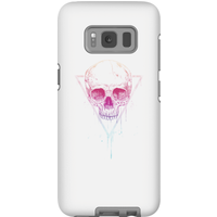 Balazs Solti Colourful Skull Phone Case for iPhone and Android - Samsung S8 - Tough Case - Gloss - Colourful Gifts