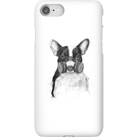 Balazs Solti Masked Bulldog Phone Case for iPhone and Android - iPhone 8 - Snap Case - Gloss